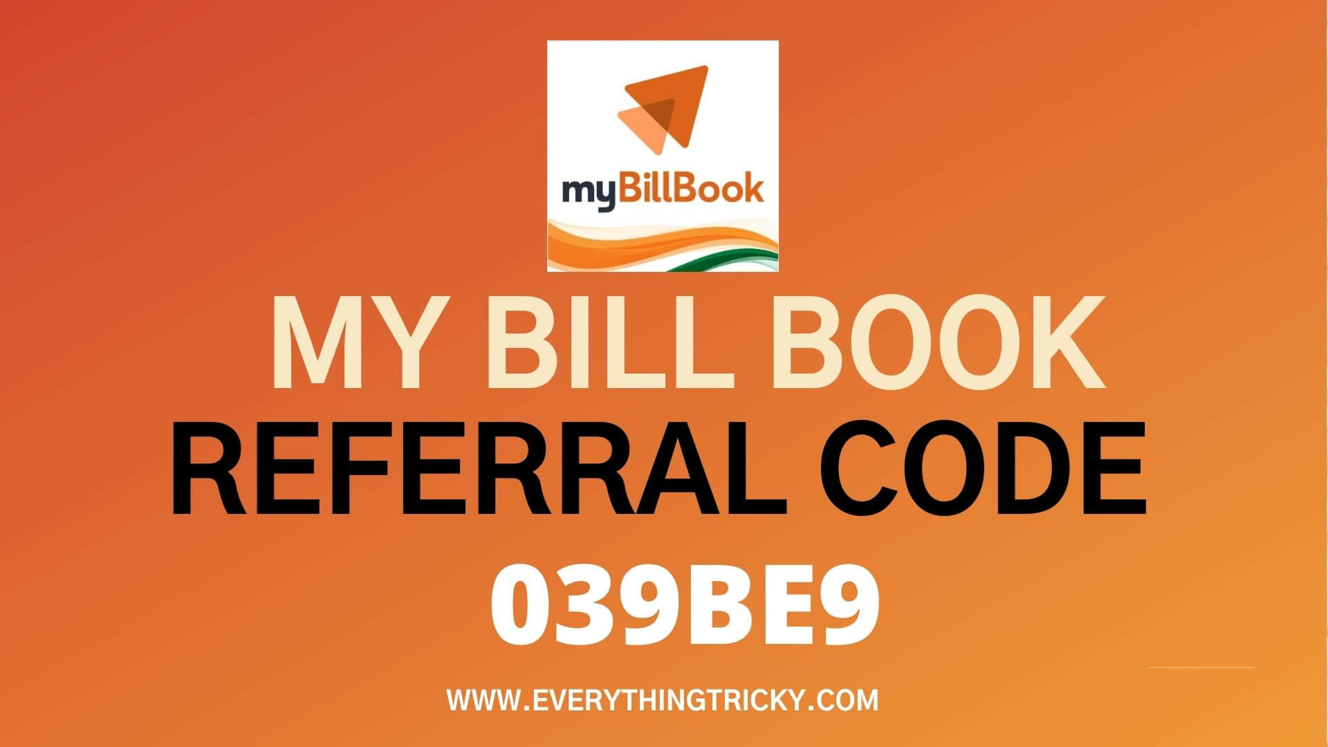 My Bill book referral code