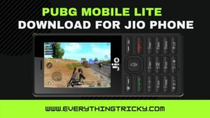 PUBG Mobile Lite Download For Jio phone